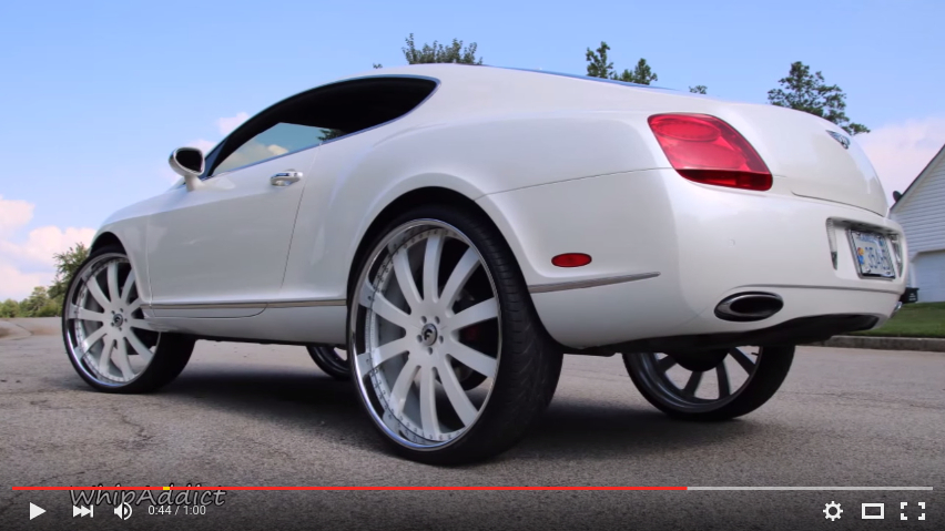 Bentley Continental Gt On Forgiato 28s Big Rims Custom