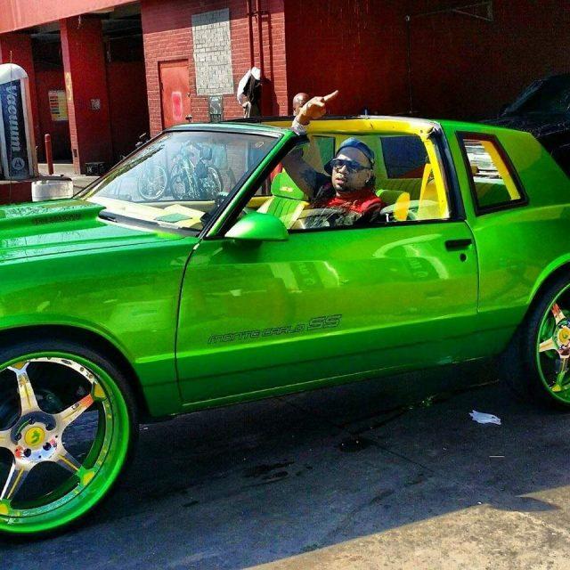 N X on 22 Chevy Rims