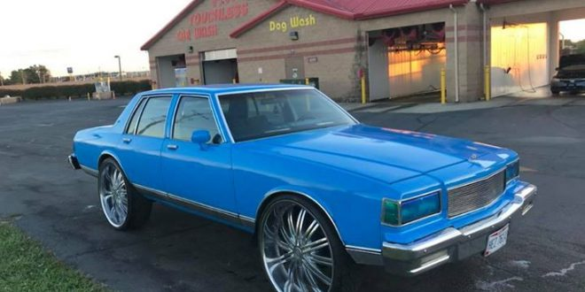 1985 chevrolet caprice classic on 28 s 5 500 canal winchester oh big rims custom wheels 1985 chevrolet caprice classic on 28 s