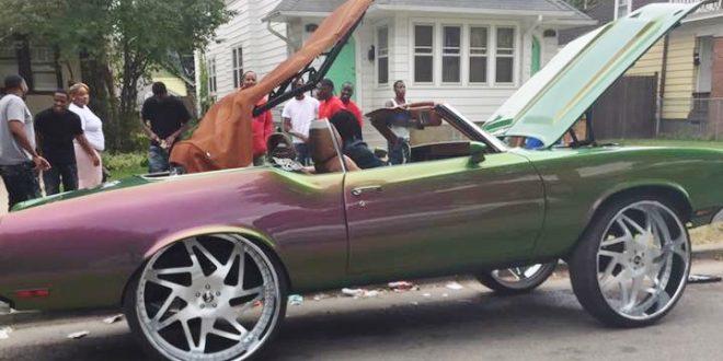 Cutlass On 30 Inch Rims : Big rims custom wheels enthusiasts community