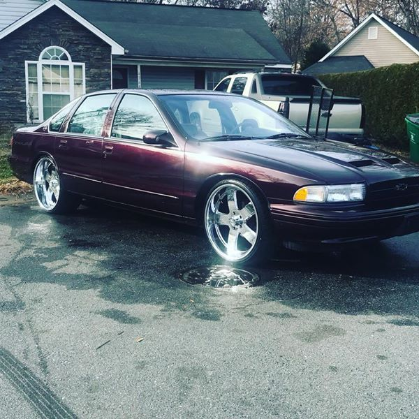 1996 Chevrolet Impala Ss $ 12.000 Charlotte, NC
