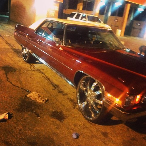 1972 Cadillac Coupe. Whitout Rims $ 7.500 Batesville, MS