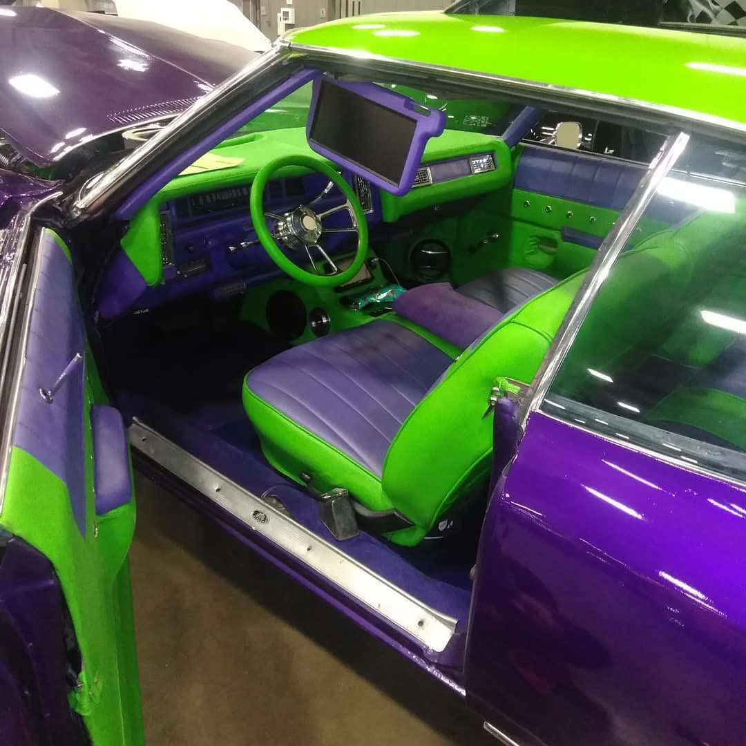 We Introduce You The Infamous Joker Donk - 71 Chevy Impala (Pictures & HD Video) - Big Rims ...